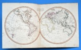 A New universal atlas, Containing Distinct Maps of all the principal Kingdoms and States Throughout the World; Adapted for the use of Schools. Cary, ...