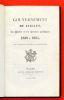 Le gouvernement de Juillet: Les partis et les hommes politiques. 1830 à 1835. Par l'auteur de l'Histoire de la Restauration [Capefigue]. Capefigue, ...