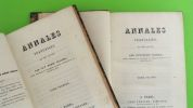 Annales françaises, mai 1789-mai 1790. Par Guy-Marie Sallier, ancien conseiller au Parlement de Paris, ex-député de la Cote-d'Or, etc.. ...