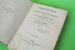 Constitution de la République française, accompagnée de notes sommaires explicatives du texte, et suivie de diverses pièces et de quelques Discours ...
