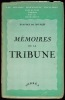 MÉMOIRES DE LA TRIBUNE, 8èmeéd., coll. Les grandes professions françaises. MONZIE (Anatole de)