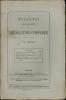 BULLETIN DE LA SOCIÉTÉ DE LÉGISLATION COMPARÉE, n°1 à 4, (février à juillet 1870).