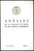 Annales de la Faculté de droit et des sciences économiques de Lyon, 1969 - I.