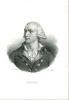 PORTRAIT DE ADRIEN DUPORT, Lithographie de Zéphyrin BELLIARD en noir & blanc représentant le buste de Adrien Jean François Jules DUPORT, avocat. ...