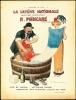 LA LESSIVE NATIONALE Solution concentrée R. POINCARÉ, breveté S.G.D.G. Plus de tâches. — Nettoyage rapide redonnant aux couleurs l'éclat du neuf, ...