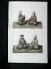 GRAVURE ORIGINALE. Omer. Ebu'Bekir. Aly.Osman. Planche originale issue du Tableau général de l'Empire othoman de Mouradja (Mouradgea) d'Ohsson, ...
