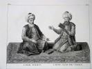GRAVURE ORIGINALE. L'Imam Scahfiy ; L'Imam Azam Ebu-Hanifé ; L'Imam Hannbel ; L'Imam Malik. Planche originale issue du Tableau général de l'Empire ...