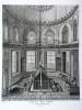 GRAVURE ORIGINALE. Chapelle sépulchrale de Moustapha III. Planche originale issue du Tableau général de l'Empire othoman de Mouradja (Mouradgea) ...