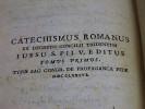 Catechismus Romanus: ex decreto Concilii Tridentini iussu S. Pii V editus. Tomus Primus. [CATECHISME ARABE] . [ANONYME]