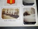 BEAUVAIS. Ensemble de 12 photographies originales, avec décors et illustrations manuscrits Belle Epoque (circa 1900). . [ANONYME].