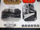 CAMBRAI. Ensemble de 5 photographies originales, avec décors et illustrations manuscrits Belle Epoque (circa 1900). . [ANONYME].
