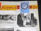 BEAUMONT-SUR-OISE. Ensemble de 6 photographies originales, avec décors et illustrations manuscrits Belle Epoque (circa 1900). . [ANONYME].