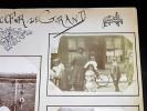 Souvenir de CREVECOEUR LE GRAND. Ensemble de 10 photographies originales, avec décors et illustrations manuscrits Belle Epoque (circa 1900). . ...