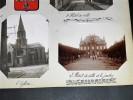 RUEIL MALMAISON. Ensemble de 5 photographies originales, avec décors et illustrations manuscrits Belle Epoque (circa 1900). . [ANONYME].