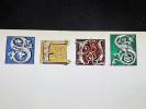 Ville de SENS. Dessin original en couleurs, titre illustré et manuscrit façon enluminure. Belle Epoque (circa 1900). [ENLUMINURE TYPOGRAPHIE]. ...