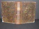 Cours de botanique. Important Manuscrit original illustré. . [MARTENS, Martin].