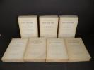 Oeuvres complètes et Oeuvres posthumes de Paul Verlaine. . VERLAINE, Paul.