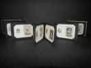 Petit album Belle Epoque de 11 photographies miniatures de femmes [PHOTOGRAPHIES ORIGINALES - ART NOUVEAU]. . [ANONYME].