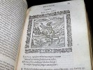 Omnia emblemata. Cum commentariis () per Claud. Minoem, in officina Ioan. . ALCIAT, André.