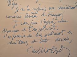 Michel Mohrt défend la langue bretonne. Michel Mohrt (1914-2011) Écrivain, éditeur, journaliste et membre de l'Académie, il fût spécialiste de la ...