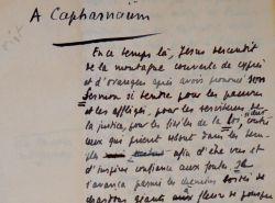 Edouard Herriot narre la vie de jésus à Capharnaüm. Edouard Herriot (1872-1957) Homme politique, membre de l'Académie française, emblématique maire de ...
