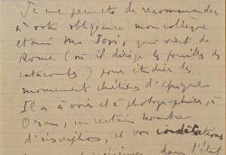 Correspondance de l'historien Eugène Albertini, sur ses activités à Alger .. Eugène Albertini (1880-1941) Formé à l'Ecole normale supérieure et membre ...