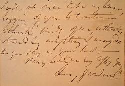 L'archéologue Percy Gardner fait part de ses états d'âme à Rose Blaze de Bury.. Percy Gardner (1846-1937) Archéologue et numismate, il enseigne ...