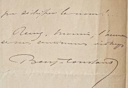 """Benjamin-Constant accepte de poser pour la couverture du """"Salon illustré"""".. Jean Joseph Benjamin-Constant (1845-1902) Peintre orientaliste, il est ..."""