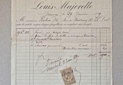 Louis Majorelle vend un ensemble de meubles de salon.. Louis Majorelle (1859-1926) Ébéniste et décorateur, figure majeure de l'Art nouveau de l'Ecole ...