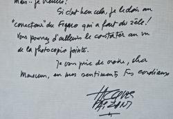 Jacques Faizant fait son mea culpa.. Jacques Faizant (1918-2006) Dessinateur de presse. Il fut pendant 45 ans, de 1960 à 2005, dessinateur politique ...