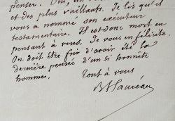 Barthélemy Hauréau pleure la mort de Victor Schoelcher.. Barthélemy Hauréau (1812-1896) Historien et bibliothécaire, conservateur des manuscrits ...