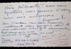 Annie Girardot et Robert Hirsch en tournée avec la Comédie Française.. Annie Girardot (1931-2011) Actrice.Robert Hirsch (1925-0) Comédien, sociétaire ...