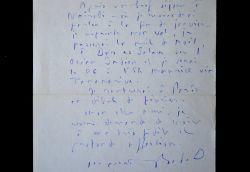 Lettre du prix Goncourt Maurice Bedel lors de son grand périple africain.. Maurice Bedel (1883-1954) Romancier, prix Goncourt (1927)