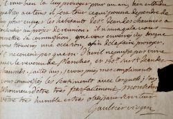 Ensemble de lettres d'archevêques de Bourges.. Charles Amable de La Tour d'Auvergne-Lauragais (1826-1879) Archevêque de Bourges (1861-1879).Célestin ...