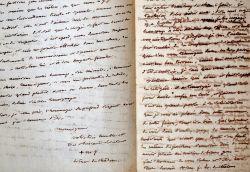 Longues et belles lettres de l'évêque de Châlons-en-Champagne, Mgr Monyer de Prilly.. Marie-Joseph-François-Victor Monyer de Prilly (1775-1860) Evêque ...