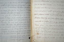 Deux lettres de l'évêque de Saintes sur une affaire galante avec les Nonnettes en 1692.. Guillaume de La Brunetière du Plessis-Gesté (1630-1702) ...