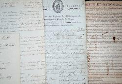 Ensemble de documents sur l'Aisne, XVIIIe-XIXe..