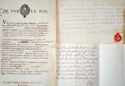 3 documents XVIIe-XVIIIe sur le fort de Mont-Dauphin, dans les Hautes-Alpes..