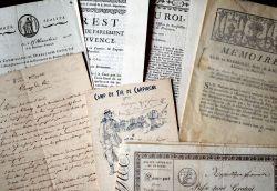 Provence et Bouches-du-Rhône : 12 de documents XVIIIe-XIXe..