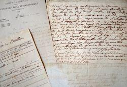 Charente : ensemble de documents XVIIe-XIXe..