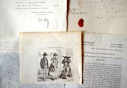 Corrèze : ensemble de documents XVIIIe-XIXe..