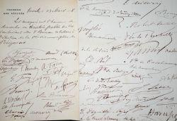 Deux pétitions signées par 60 députés sur les élections à Périgueux en 1878.. Armand Fallières (1841-1931) Président de la République (1906-1913).