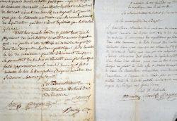 Intéressantes lettres révolutionnaires sur Beaucaire..