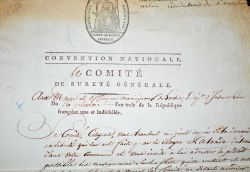 La convention demande des éclaircissements pour libérer le citoyen Lalande à Loches..