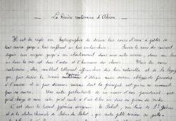 Récit d'exploration de la rivière souterraine d'Aliou, dans l'Ariège, par Norbert Casteret.. Norbert Casteret (1897-1987) Spéléologue et préhistorien, ...