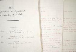 Etude hydrogéologique du Haut-Lez et du Liat, dans l'Ariège, par Norbert Casteret.. Norbert Casteret (1897-1987) Spéléologue et préhistorien, on lui ...