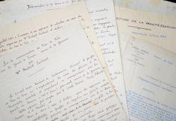 Dossier sur la découverte des sources de la Garonne par Norbert Casteret.. Norbert Casteret (1897-1987) Spéléologue et préhistorien, on lui doit la ...