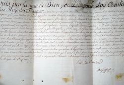 Boyer-Fonfrède ratifie la vente d'une maison à Bordeaux..