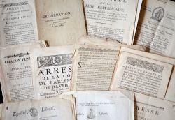 Important ensemble d'imprimés XVIIe-XVIIIe sur le Dauphiné..