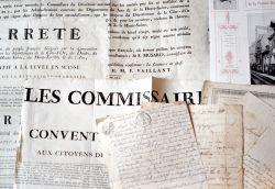Ensemble de documents anciens sur le Jura..